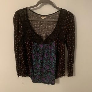 Urban Outfitters patterned top